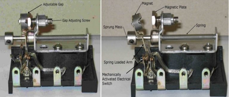 armed mechanical viration switch