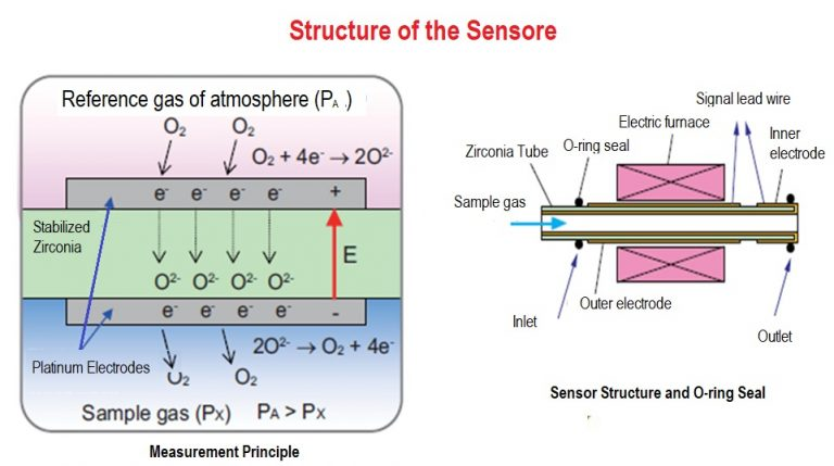 structure of the sensore