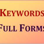 FULL FORM 1